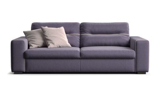 Three-seater sofa with a sleeper mechanism armchair фото