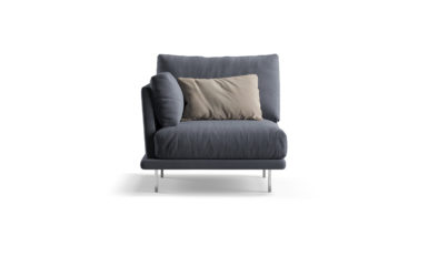 Module with armrests armchair фото