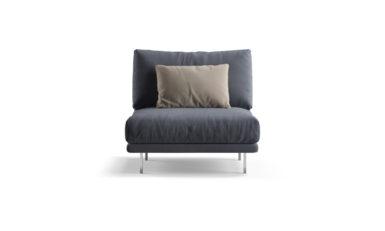 Straight module armchair фото