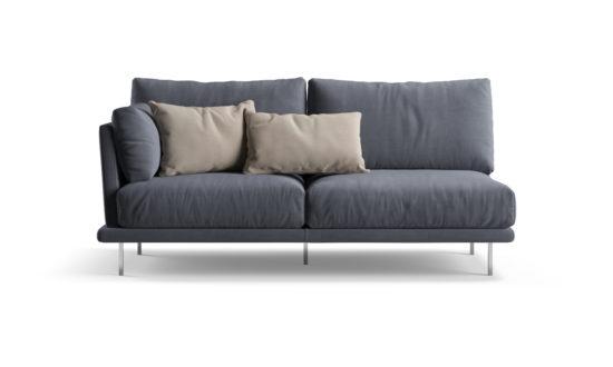 Двомісний диван ALFINOSA фото