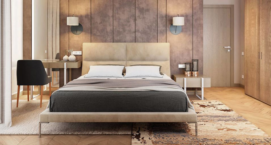 Laval bed in the interior фото 4