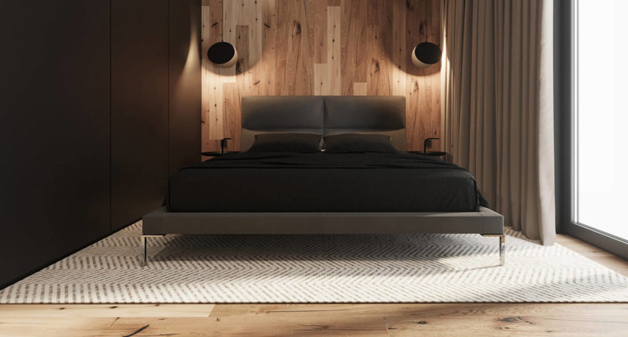 Laval bed in the interior фото 6
