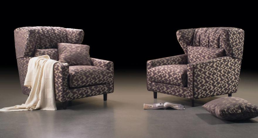 Milton armchair фото в интерьере