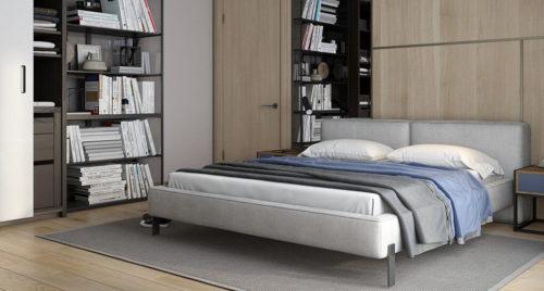 Кровать Vogue в интерьере фото 2