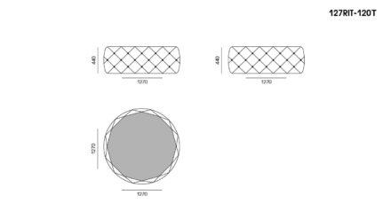 Стіл RIVIERA T размеры фото 1