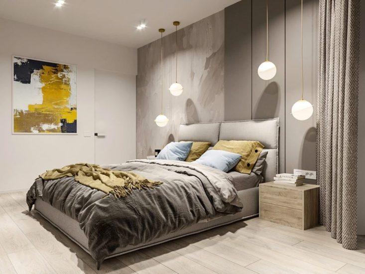 Кровать LANA в интерьере фото 8