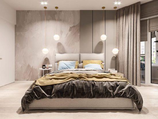 Кровать LANA в интерьере фото 9-1