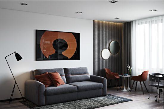 Sky sofa in the interior фото 3-1