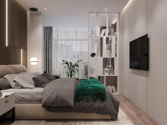 Кровать Limura в интерьере фото 4-1