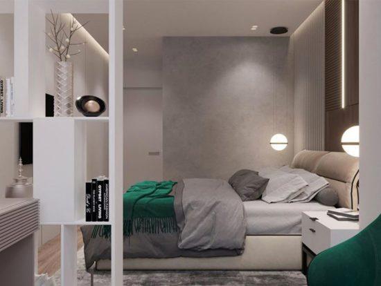 Ліжко LIMURA в інтер'єрі фото 4-2