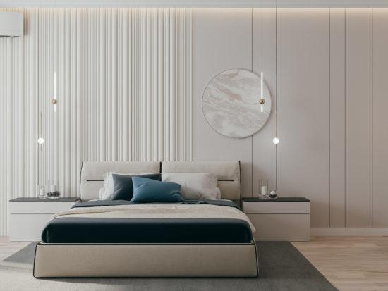 Кровать Limura в интерьере фото 8-2