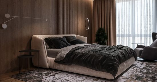 Too Night bed in the interior фото 4-1