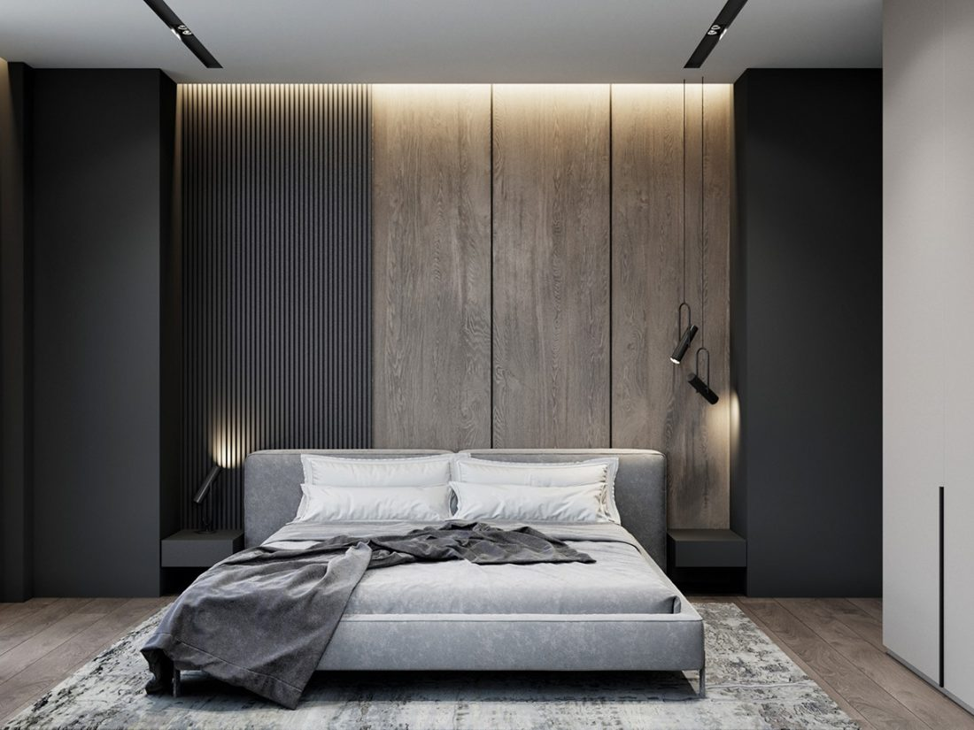 Vogue bed in the interior фото 3-1