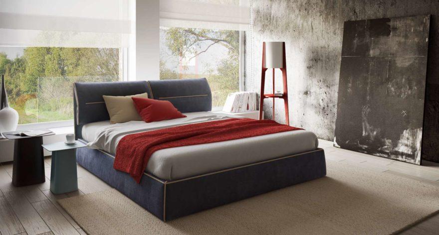 Кровать Limura в интерьере фото 21