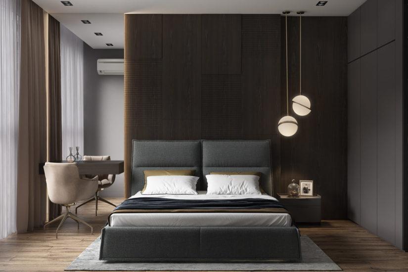 Кровать LANA в интерьере фото 6