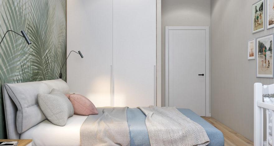 Кровать Limura в интерьере фото 1