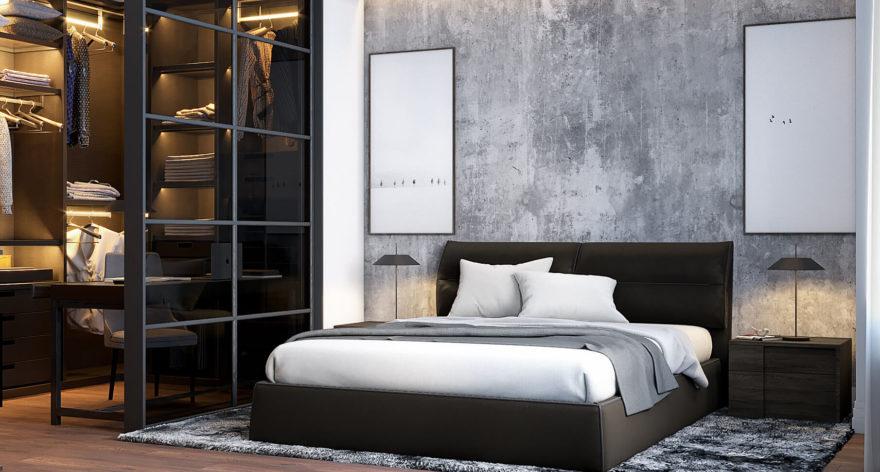 Кровать Limura в интерьере фото 5