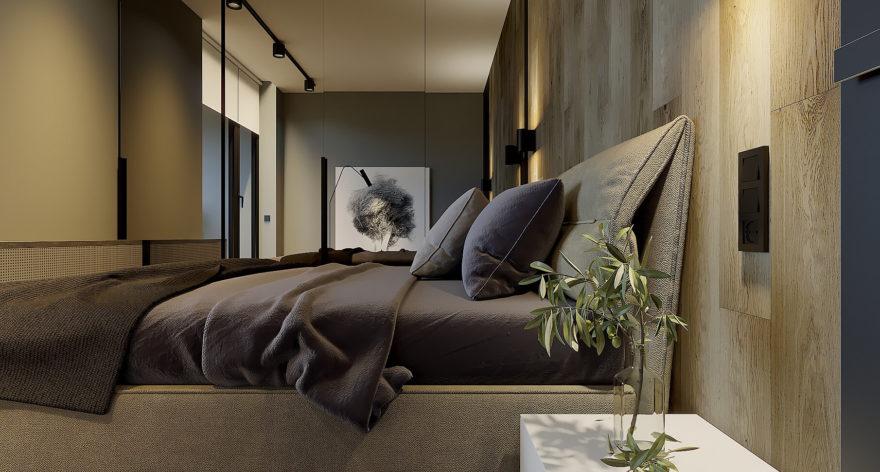 Кровать Limura в интерьере фото 6