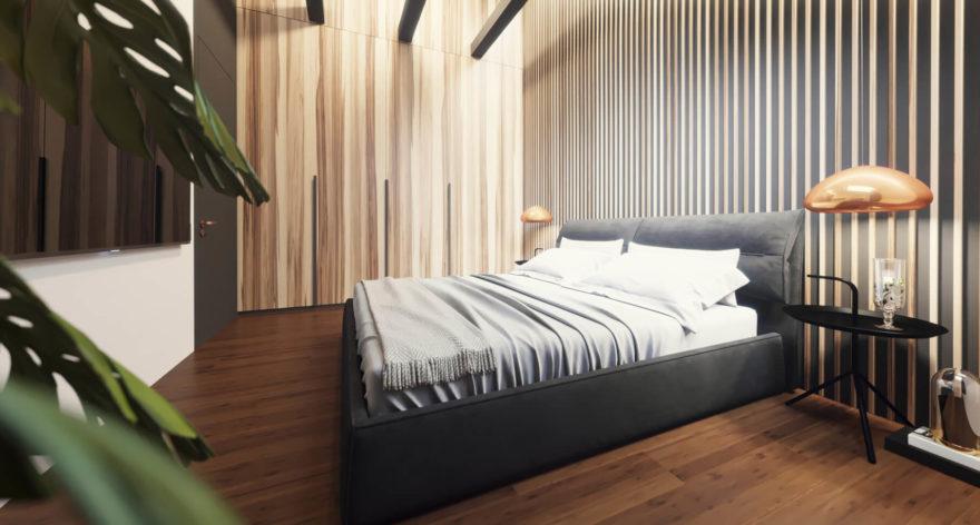 Кровать Limura в интерьере фото 8