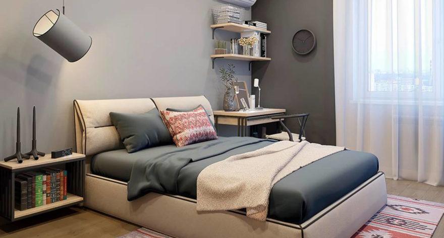 Кровать Limura в интерьере фото 9