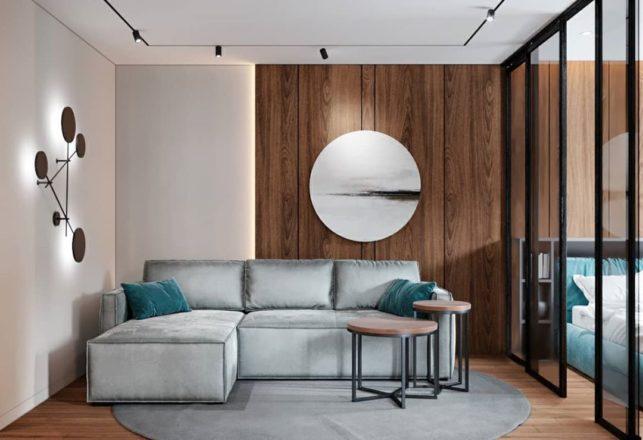 Проект стильной квартиры для молодой семьи
