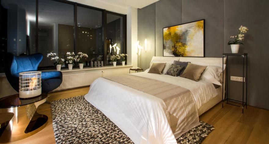 Кровать Limura в интерьере фото 11