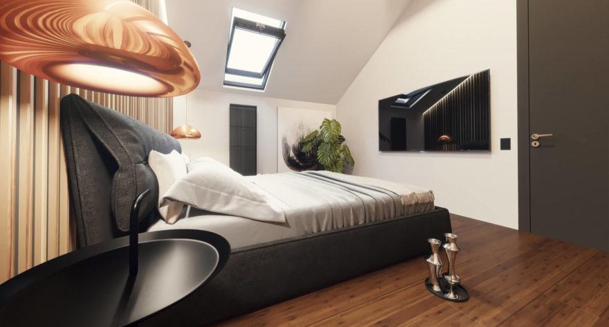 Кровать Limura в интерьере фото 12