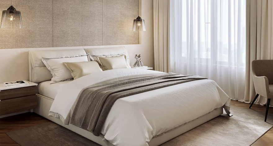 Кровать Limura в интерьере фото 13