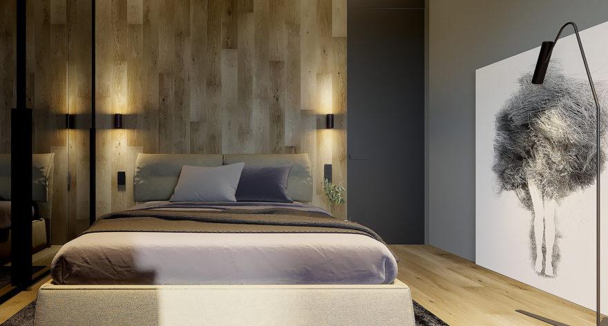 Кровать Limura в интерьере фото 14