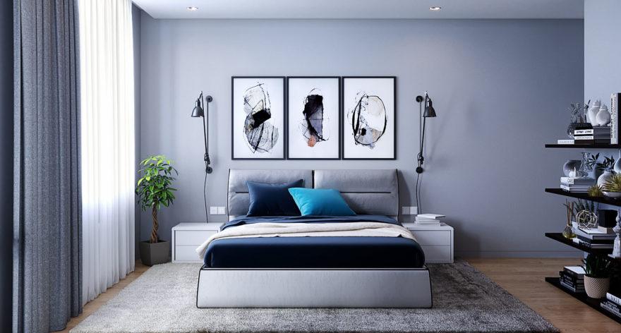 Кровать Limura в интерьере фото 16