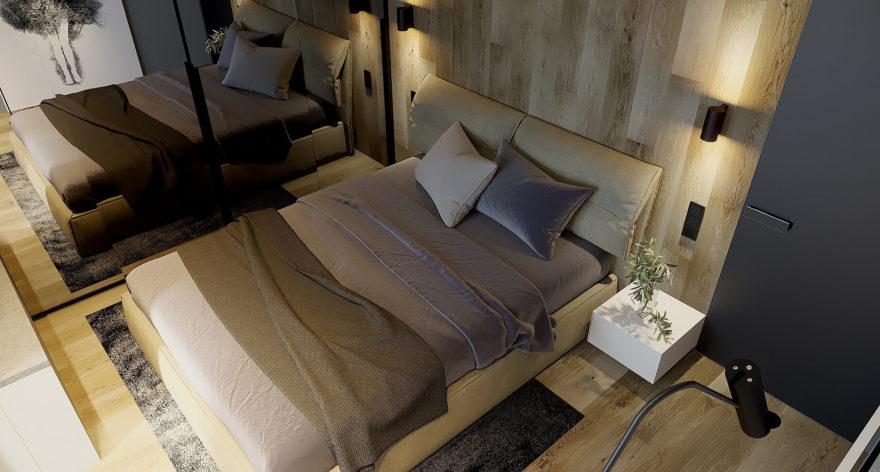 Кровать Limura в интерьере фото 17