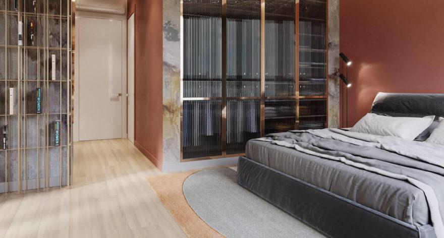 Кровать Limura в интерьере фото 18