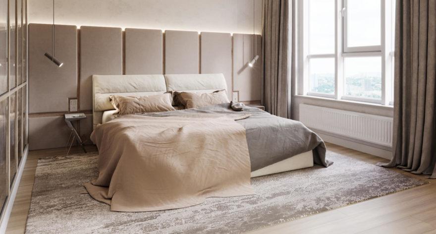 Кровать Limura в интерьере фото 19