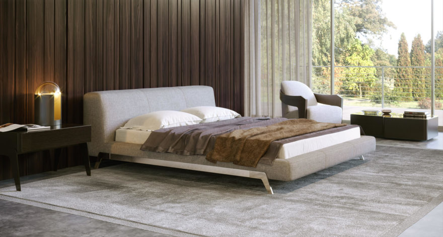 Eterna bed фото в интерьере
