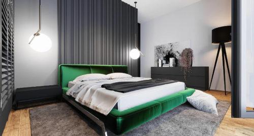 Кровать Eterna в интерьере фото 1