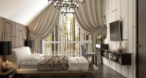 Кровать Eterna в интерьере фото 2