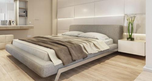 Кровать Eterna в интерьере фото 3
