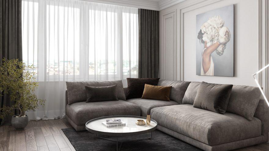 Katarina sofa in the interior фото 5
