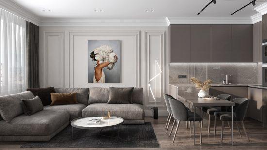 Katarina sofa in the interior фото 6-1
