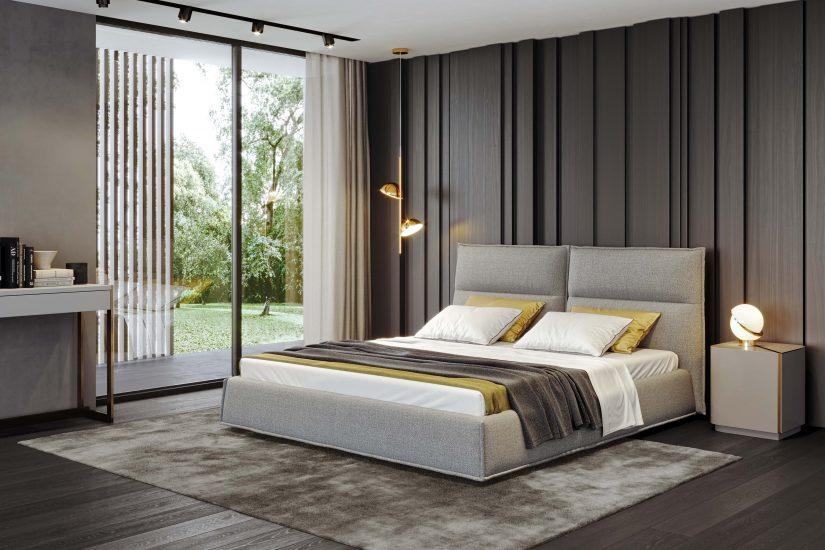 Ліжко LANA в інтер'єрі фото 1
