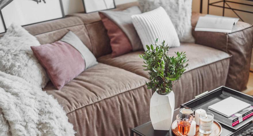 Melia sofa in the interior фото 2