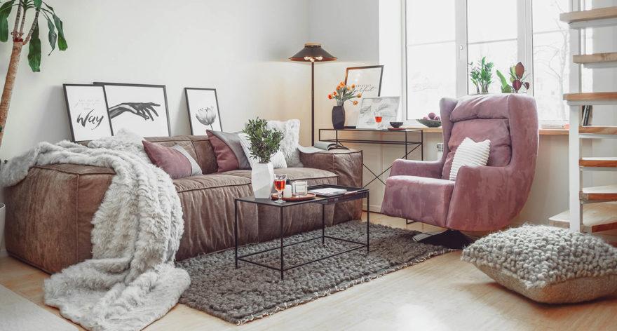 Melia sofa in the interior фото 3