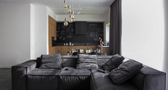 Melia sofa in the interior фото 2-1