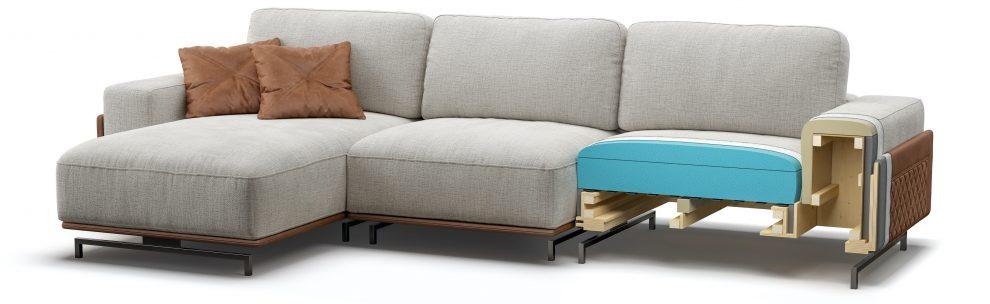 BOTTERA sofa детали