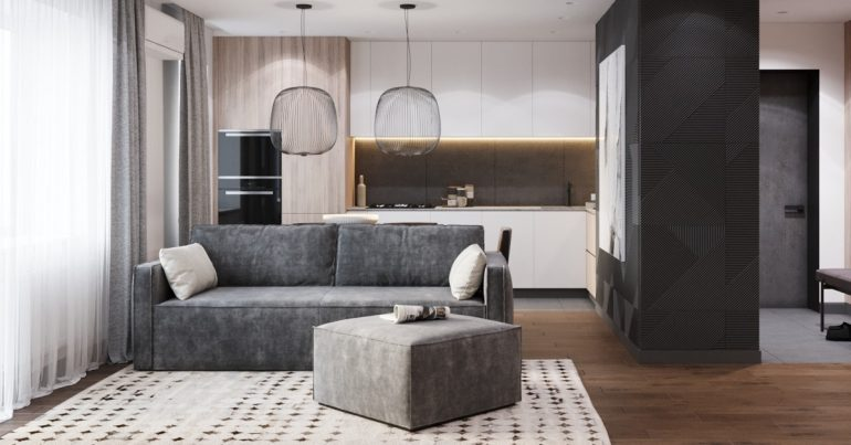 Modernes Apartmentdesign