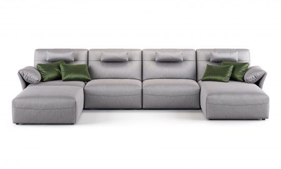 U-shaped sofa sofa фото