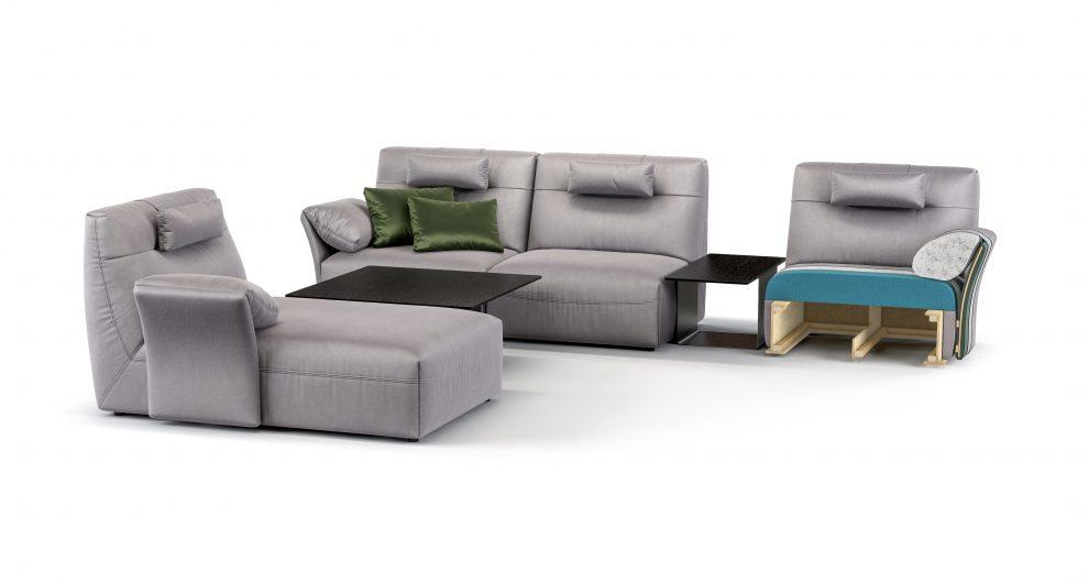 FIO sofa детали