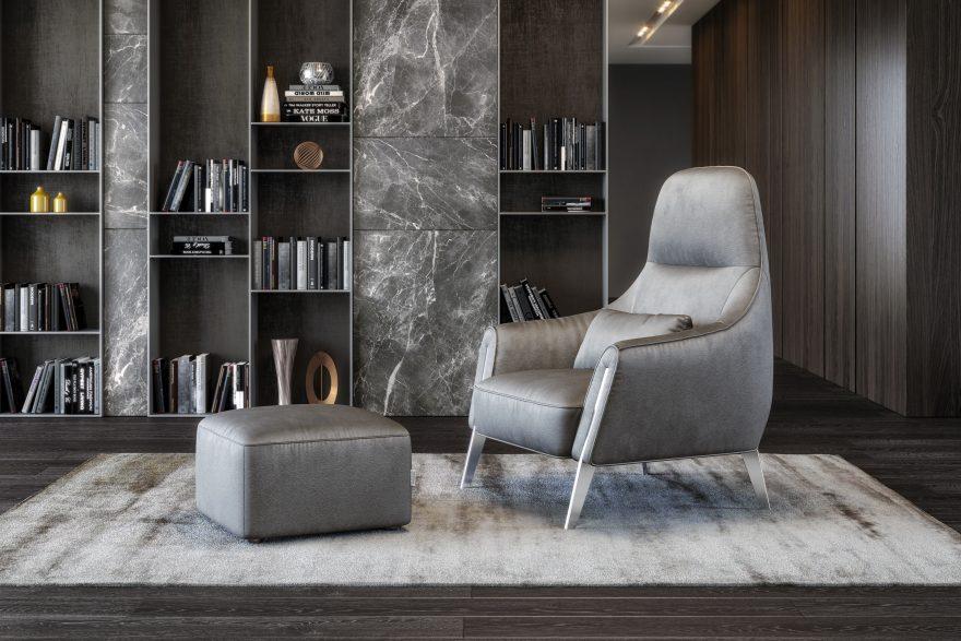 Кресло PANDORA H фото в интерьере