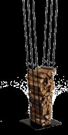 Vivo wood rack