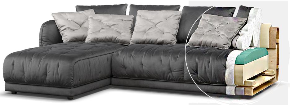 ASTRO sofa детали